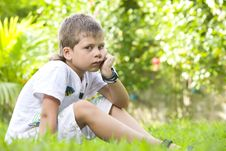 Free Summer Boy Royalty Free Stock Image - 8144446