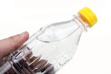 A Bottle Of Water Royalty Free Stock Photos