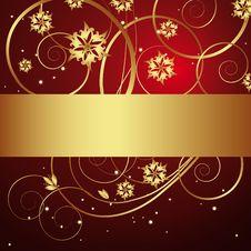 Free Vintage Floral Background Stock Image - 8145691