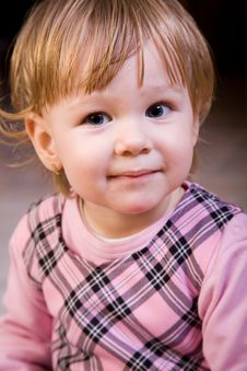 Free Beautiful Little Girl Face Stock Image - 8145851