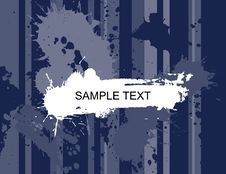 Grunge Blank Banner Royalty Free Stock Photography