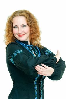 Ukrainian Girl Stock Photography