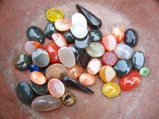 Free Colorful Stones Background Stock Images - 8146494