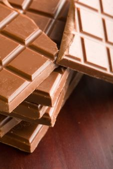 Free Chocolate Bars Stock Photography - 8146602
