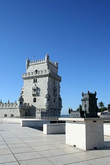 Free Belem Tower In Lisbon Royalty Free Stock Images - 8146839