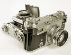 Free Retro Cameras. Royalty Free Stock Image - 8146876
