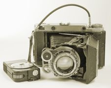 Free Old Camera. Stock Photos - 8146943