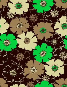 Free Floral Seamless Pattern Royalty Free Stock Photography - 8146967