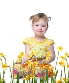 Free Baby In Garden Royalty Free Stock Photo - 8147075