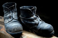 Free Old Boots Royalty Free Stock Photo - 8148005