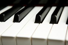 Free Piano Keyboard Stock Image - 8148021