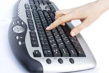 Free Keyboard Royalty Free Stock Photos - 8148418