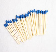 Free Blue Matches Royalty Free Stock Photos - 8148628
