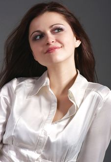 Free Laughing Girl Royalty Free Stock Photography - 8148697