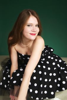 Free Polka Dot Dress Royalty Free Stock Photo - 8148795