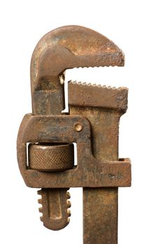 Free Old Pipe Wrench Stock Photos - 8149053