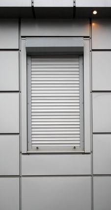 Closed Window Royalty Free Stock Image
