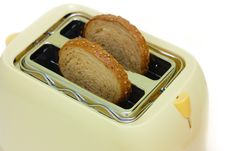 Free Toaster And Bread Stock Images - 8149814