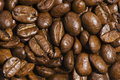 Free Fresh Brown Coffee Beans Background Royalty Free Stock Images - 8151719