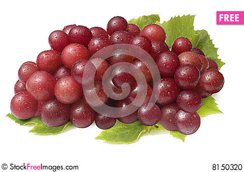 Free Red Grapes Stock Photo - 8150320
