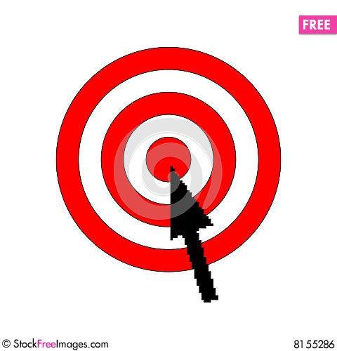 Free Aiming Target Royalty Free Stock Image - 8155286