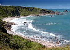 Free Beautiful Coastal Scene Royalty Free Stock Photos - 8150008