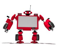 Free Red Robot Stock Images - 8150244