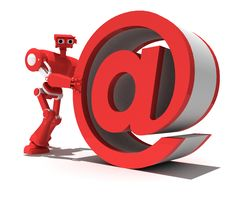Free Red Robot Stock Photo - 8150350