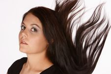 Free Falling Hair Royalty Free Stock Images - 8151169