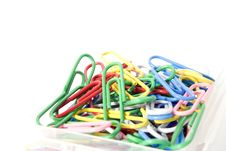 Free Paper Clip Royalty Free Stock Photo - 8151195