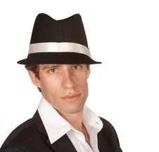 Free Man With Hat Stock Photo - 8151310