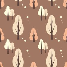 Free Forest Pattern Stock Photography - 8151532