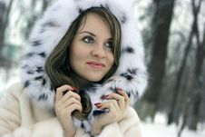 Free Lady In Fur Royalty Free Stock Photography - 8151707