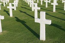 Free Military Cemetery Stock Images - 8151914