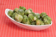 Free Brussels Sprouts Royalty Free Stock Photo - 8152265