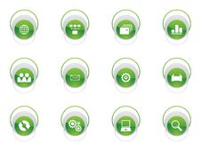 Free Web Icon Set Stock Photo - 8153390