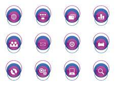 Free Web Icon Set Stock Image - 8153391
