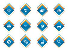 Free Web Icon Set Stock Photos - 8153393