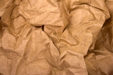 Free Crumpled Paper Royalty Free Stock Images - 8153549