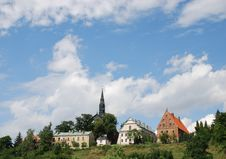 Old City In Sandomierz Royalty Free Stock Photography