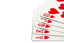 Free Royal Flush Stock Photography - 8153882