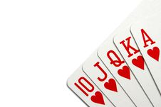 Free Royal Flush Stock Images - 8153884