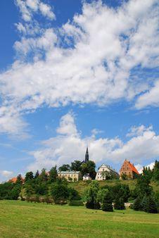 Old City In Sandomierz Stock Image