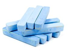 Free Group Blue Chalk Stock Photos - 8154253