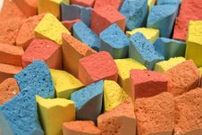 Free Set Of Colored Chalk Stock Photos - 8154723