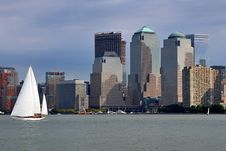 Free Sail Boats & NYC Royalty Free Stock Images - 8154739