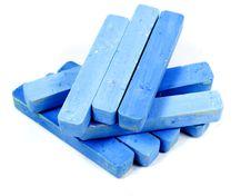 Free Group Blue Chalk Royalty Free Stock Photo - 8154965