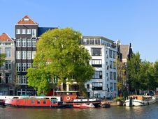Free Streets Of Amsterdam Stock Photography - 8155532
