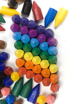 Free Crayons Royalty Free Stock Image - 8155706