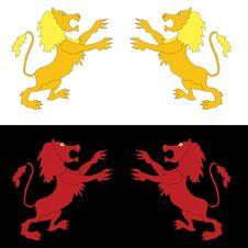 Free Lion Design Stock Image - 8156081